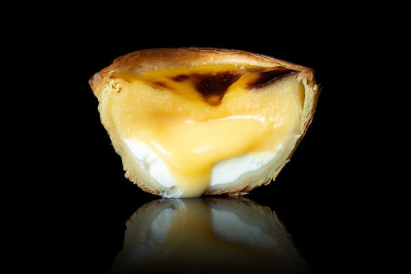 cheese flavour pastel de nata