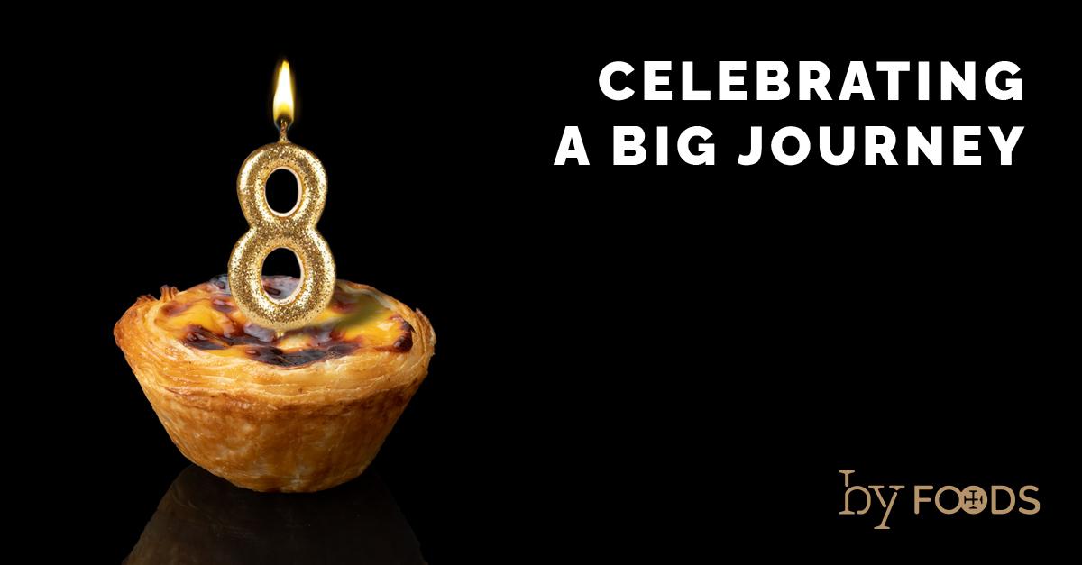 Nata Pura eight years celebration